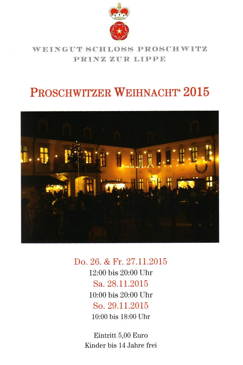 Proschwitz Weihnachtsmarkt.Weihnachtsmarkt Auf Schloss Proschwitz Plauener Seidenweberei Gmbh