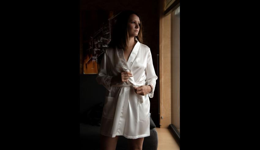 Seidenweber Collection® Damenrobe kurz